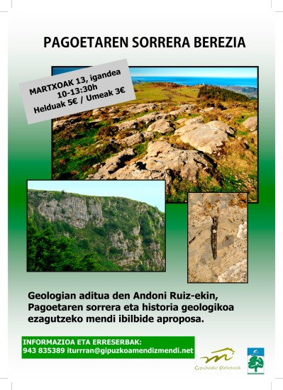 geologia Martxoak 13