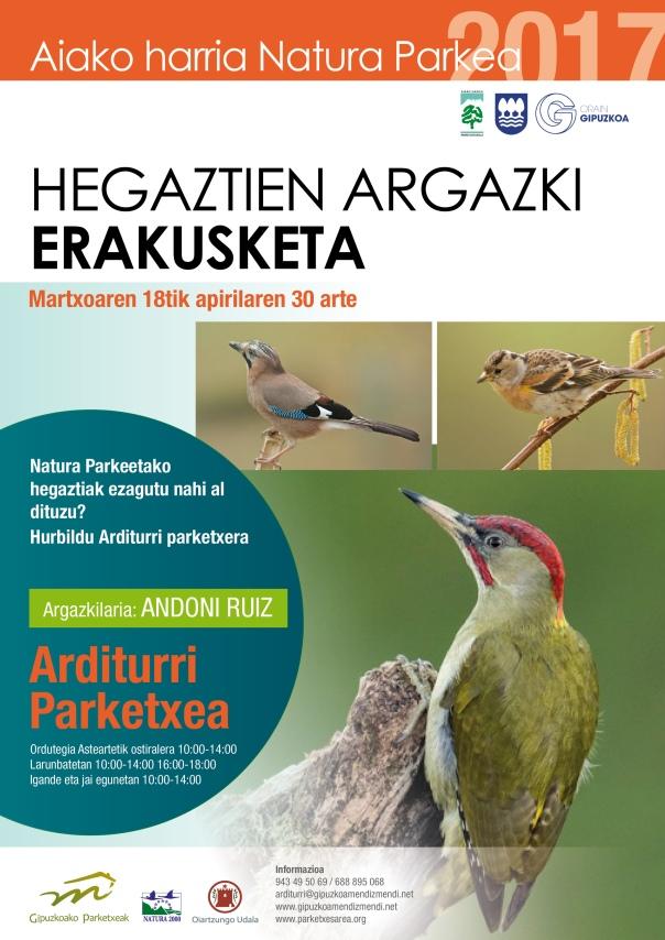 Hegaztien argazki erakusketa 2017