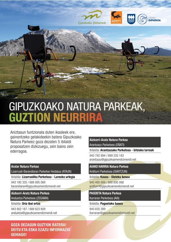 Natura Parkeak guztion neurrira2017
