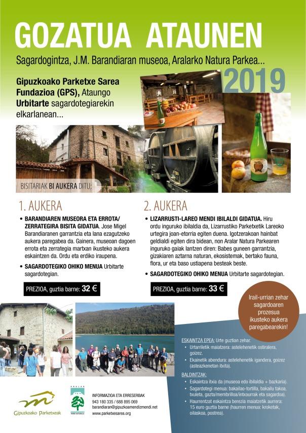 Gozatua Ataunen 2019