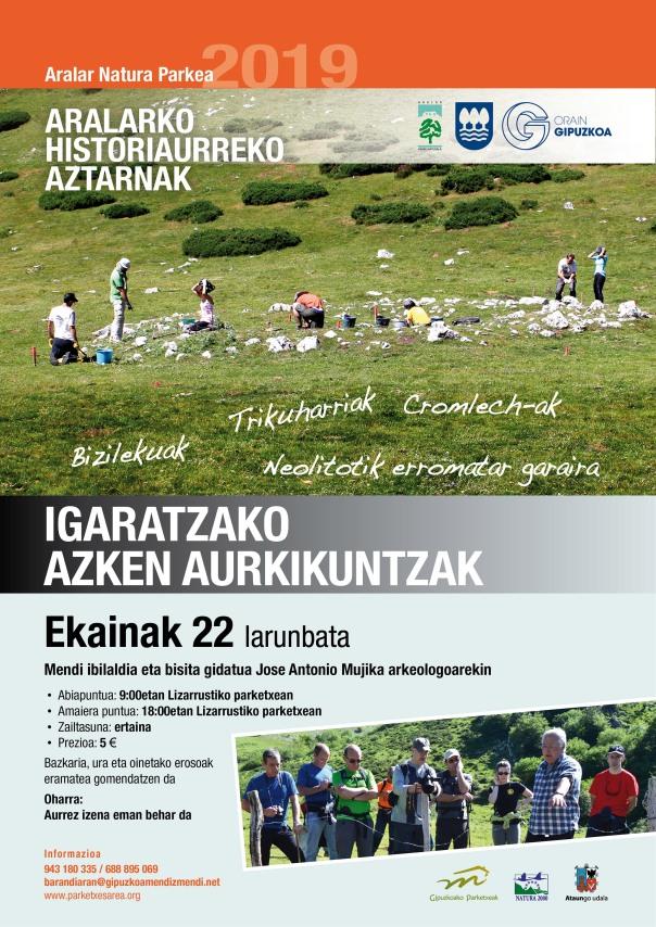 Historiaurreko Aztarnak IGARATZA2019