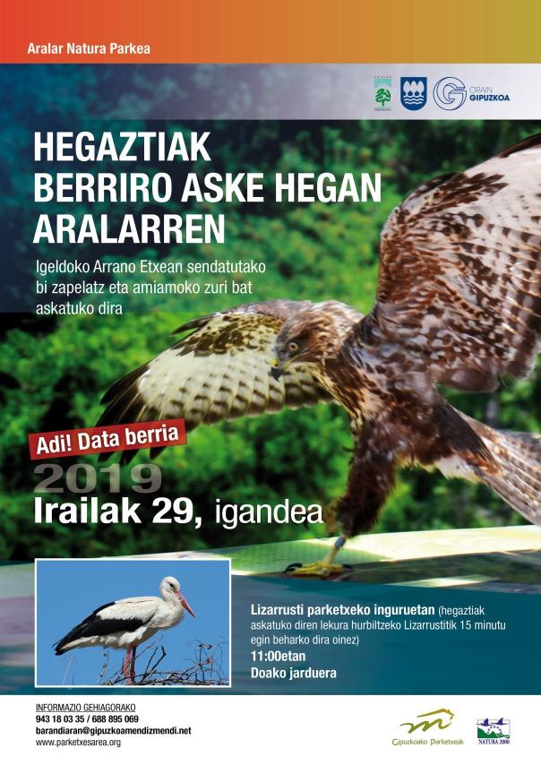 Hegazti askatzea (data berria)2019